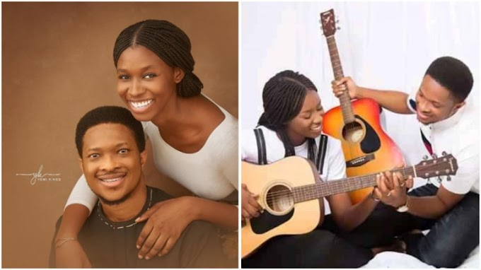 Checkout pre-wedding photos of Mike Bamiloye's daughter, Darasimi and Lawrence Oyor