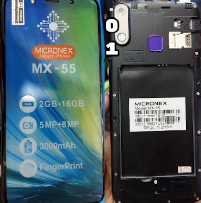 MICRONEX MX-55 FLASH FILE FIRMWARE