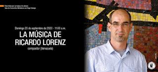 La música de Ricardo Lorenz