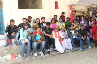 priti maurya movie shooting pics