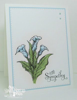 ODBD Loving Memories, ODBD Custom Double Stitched Rectangles Dies, Card Designer Angie Crockett