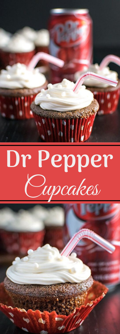 DR PEPPER CUPCAKES #desserts #cakes #cupcakes #pumpkin #easy