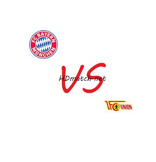 مشاهدة مباراة يونيون برلين وبايرن ميونخ بث مباشر مشاهدة اون لاين اليوم 17-5-2020 بث مباشر الدوري الالماني يلا شوت fc union berlin vs bayern munich
