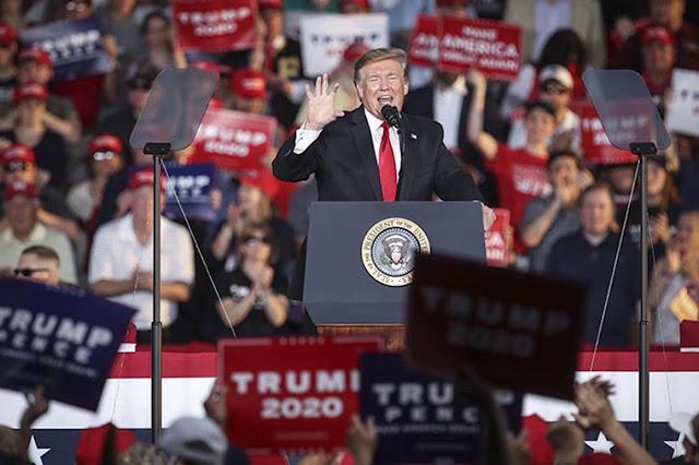 Trump wa Marekani amezinduwa kampeni