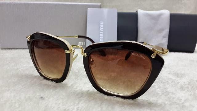 Kacamata Miu-miu 10NS coklat krem 1d52e81da0
