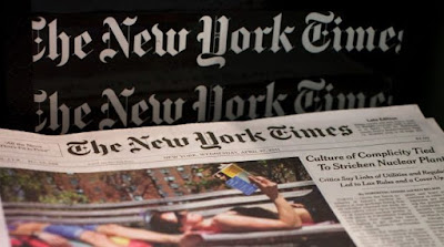 New York Times apps bloqué en Chine