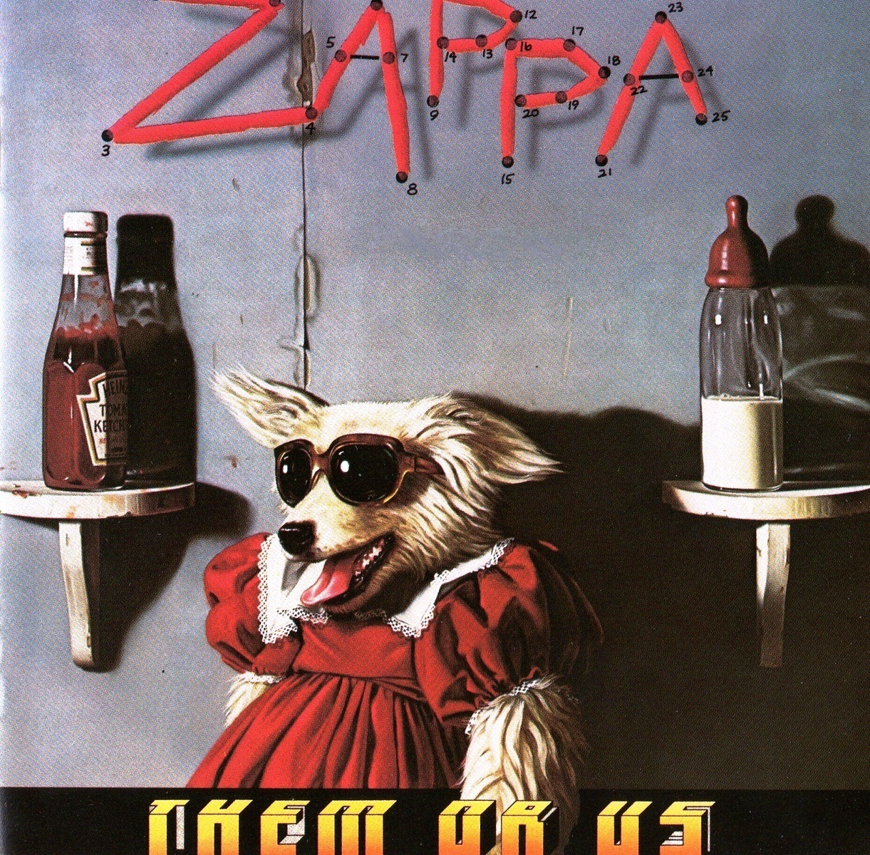 Ploy Vault Cat Frank Zappa Them Or Us 1984