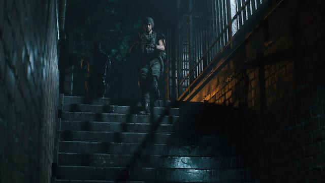 Resident Evil 3 - Carlos Oliveira