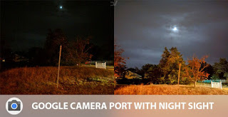 Mode Malam Google Camera