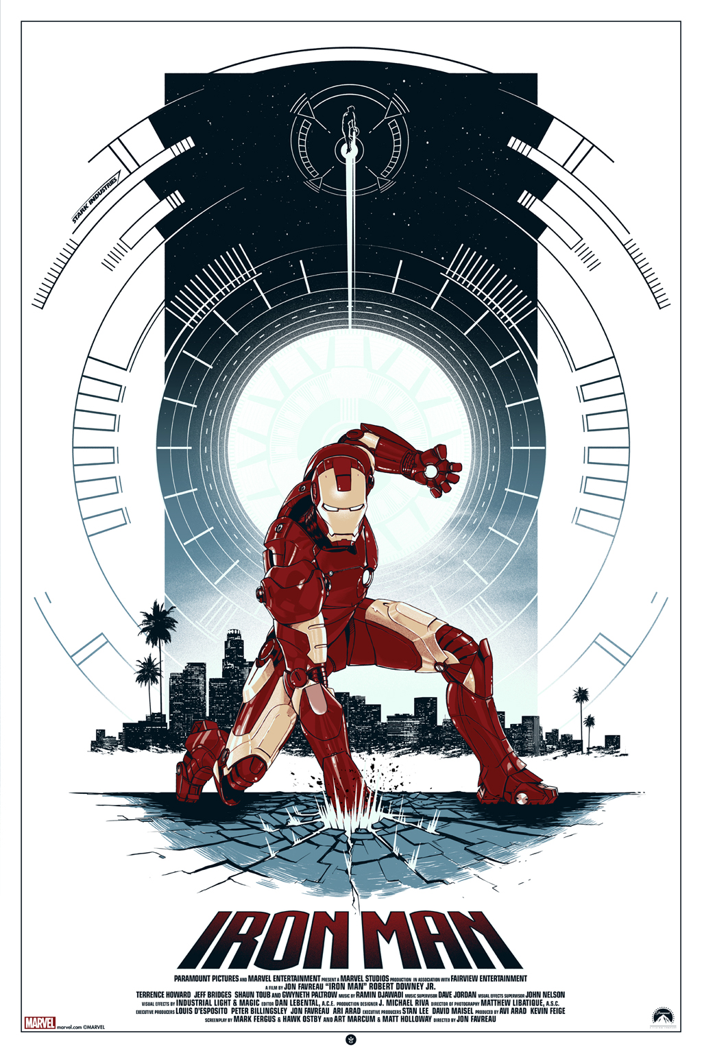 INSIDE THE ROCK POSTER FRAME BLOG: Matt Ferguson Iron Man ...