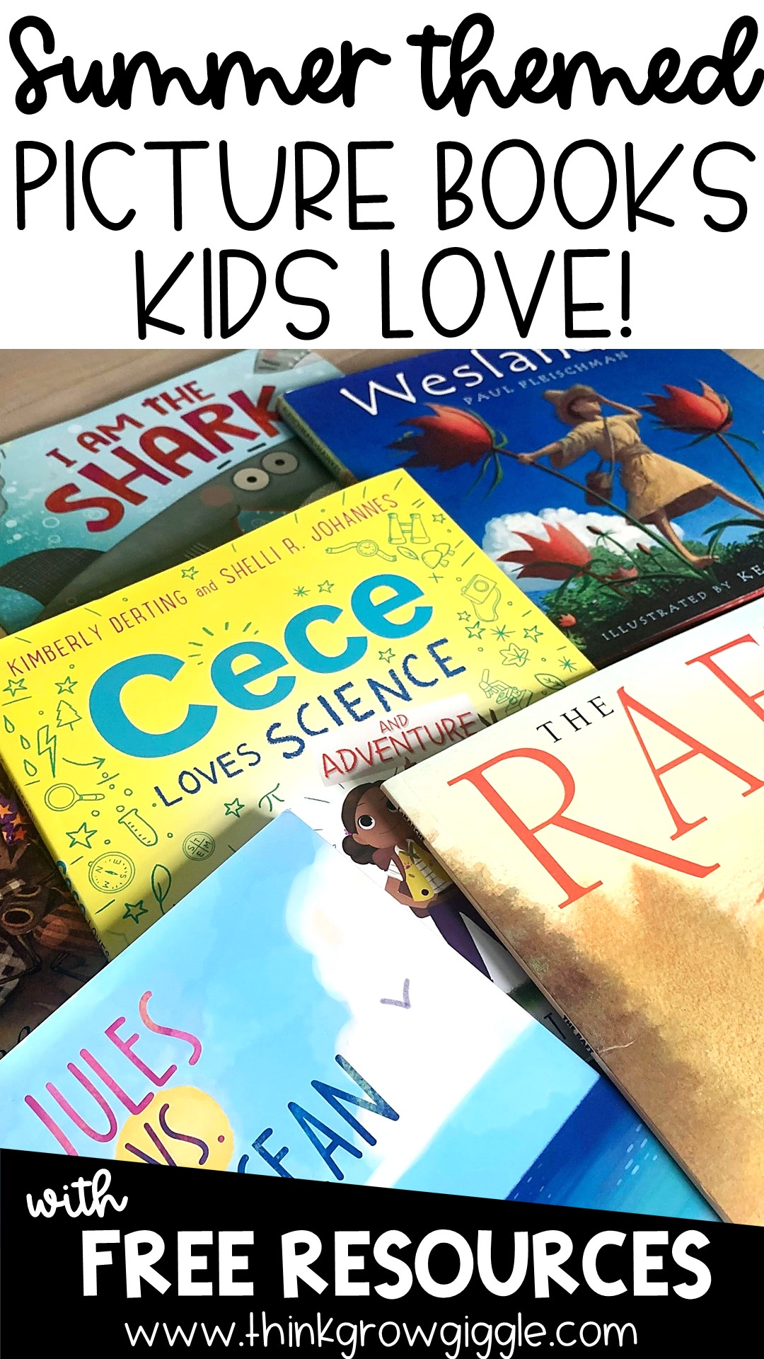list of must read summer books for kids