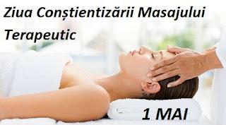1 mai: Ziua Conștientizării Masajului Terapeutic