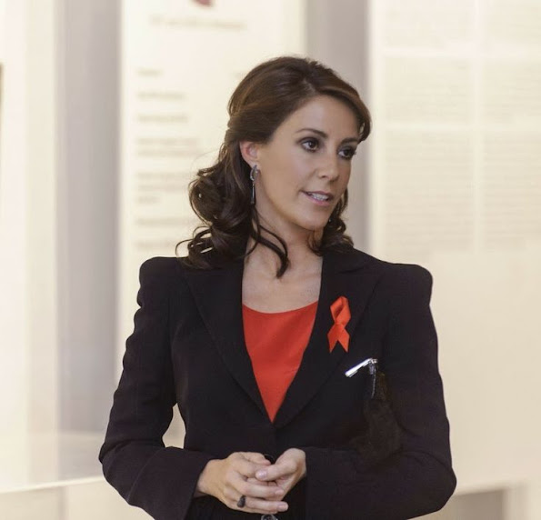 Princess Marie attended opening ceremony of the photo exhibition
