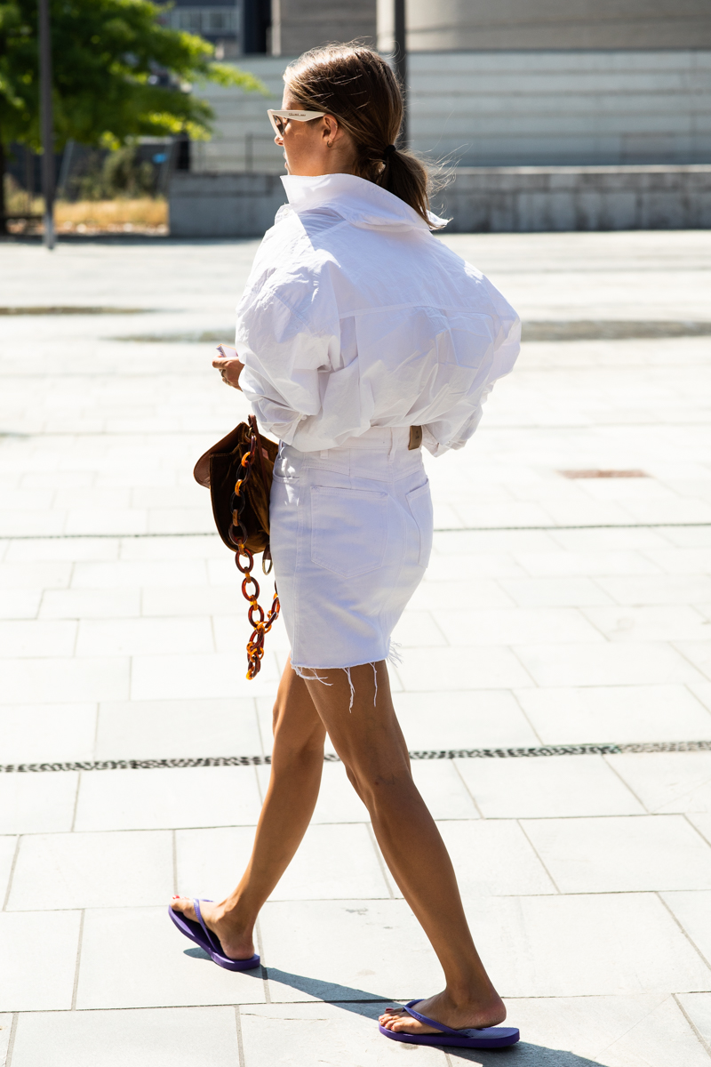 All-White Summer Outfit Inspiration