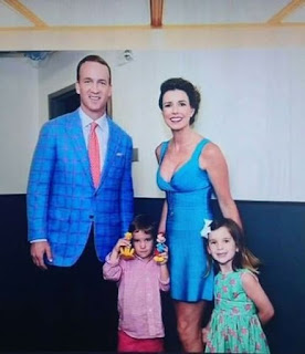 Peyton Manning With His Family