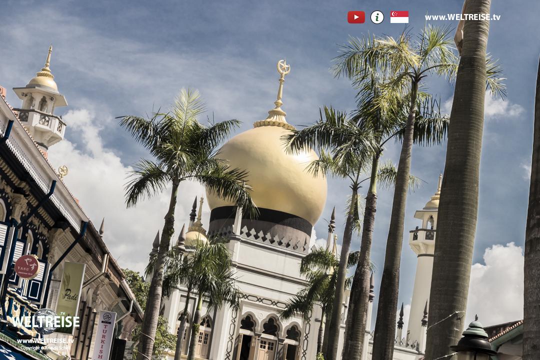Arab Street Sultan Moschee www.WELTREISE.tv