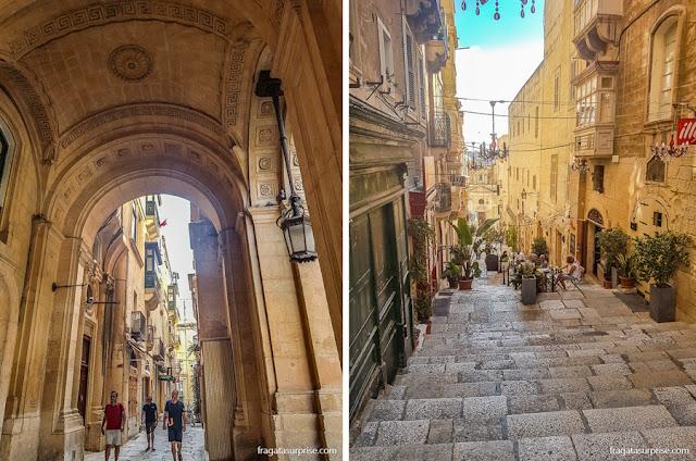 Centro Histórico de Valeta, capital de Malta