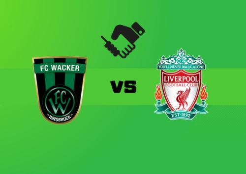 Wacker Innsbruck vs Liverpool  Resumen y Partido Completo