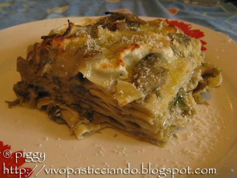 Vivo pasticciando ricette per il veglione 2 lasagne for Ricette con carciofi