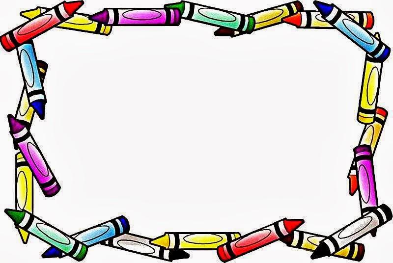 Aprendizagem Divertida Bordas Coloridas Para Textos E Mensagens