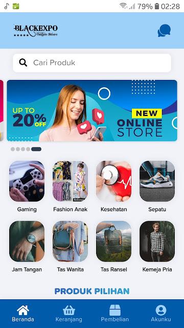 Source Code APK Android Toko Online Siap Pakai 7
