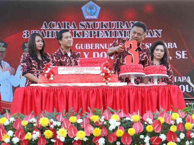 3 Tahun Olly Dondokambey -  Steven Kandouw, Sulawesi Utara Semakin Paripurna