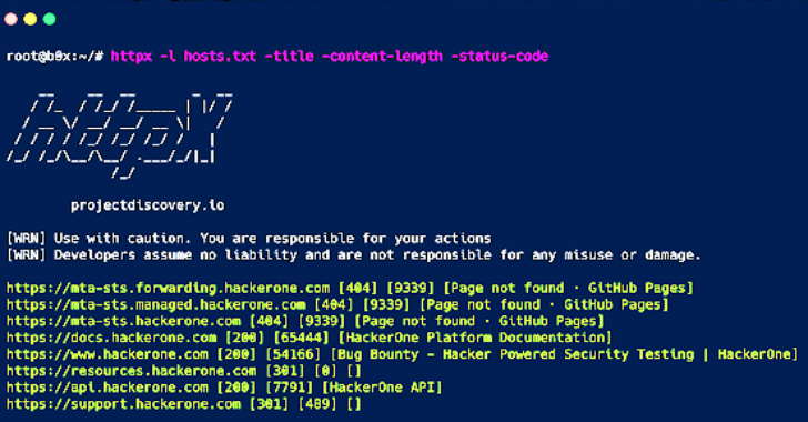 HTTPX : A Fast And Multi-Purpose HTTP Toolkit