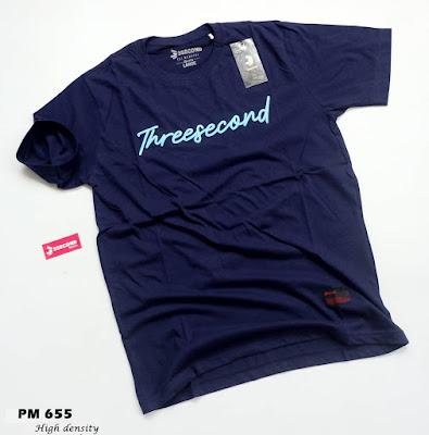 BAJU KAOS THREESECOND (PM655)