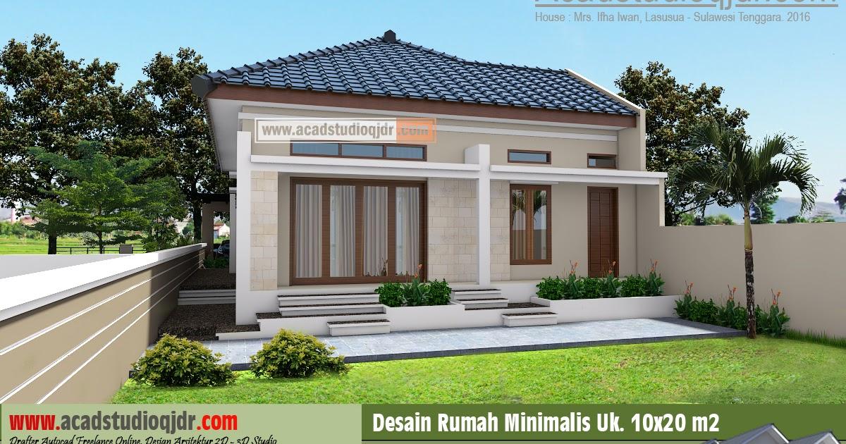 Top Desain Rumah Minimalis Halaman Luas Gubukhome