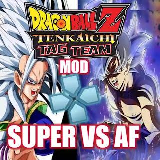 DBZ TTT MOD Super Vs AF PSP ISO