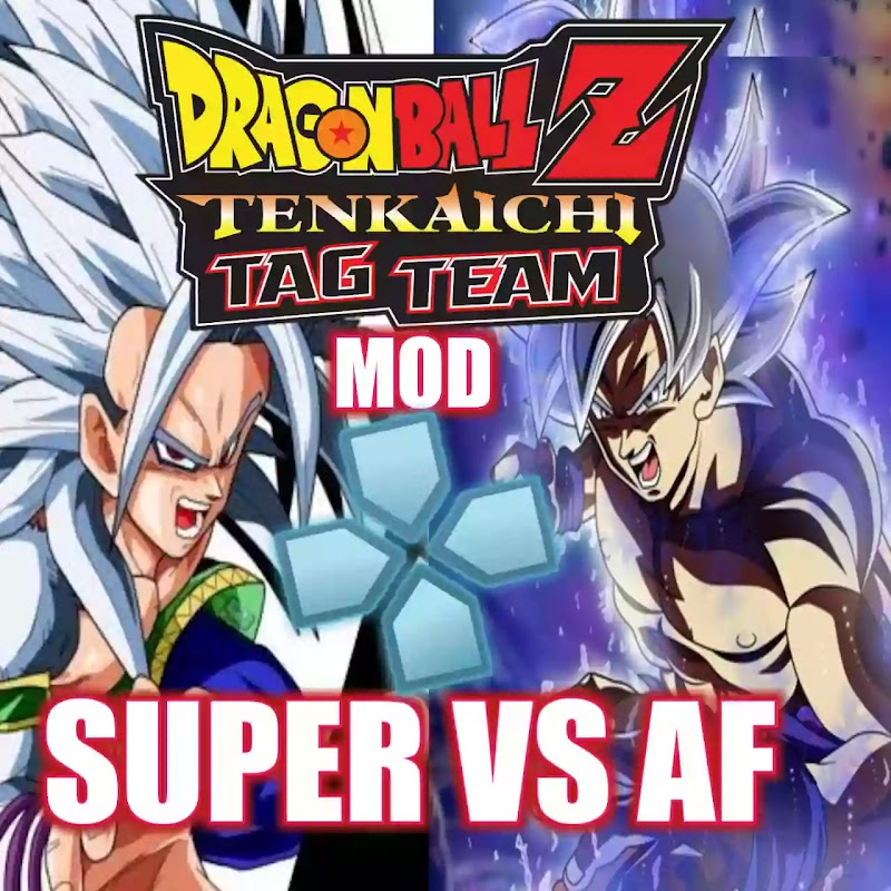 Dragon Ball Z Super Vs AF Tenkaichi Tag Team Mod PSP ISO Download
