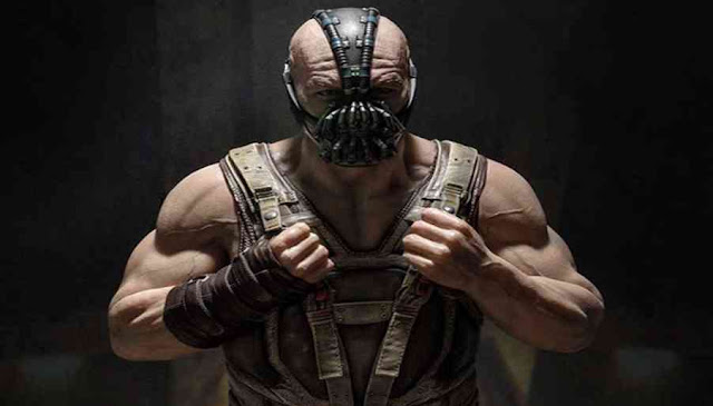 Who played Bane in the Dark Knight series?