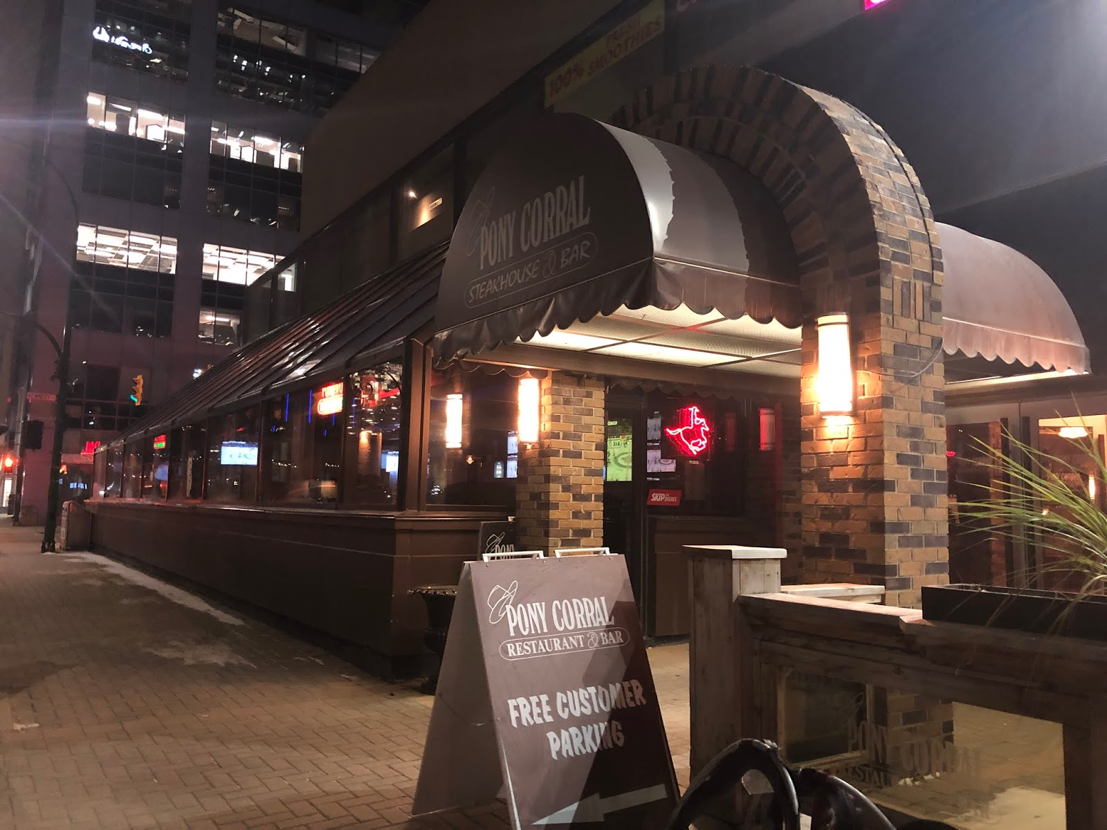 Teena In Toronto Pony Corral Restaurant Bar Downtown