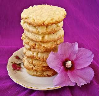 Hawaiian Coconut Cookies biscuit, eggless, vegan, vegetarian, veg, simple, easy, recipe, butter, crispy,