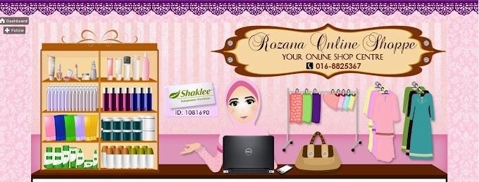 Tempahan Design Blog: Rozana Online Shoppe