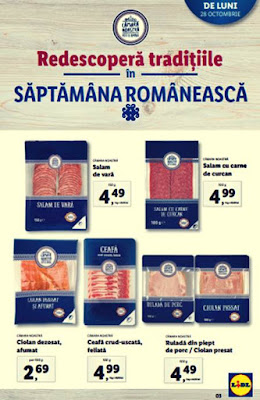 Oferte Camara Noastra LIDL Catalog Brosura 28.10-03.11.2019