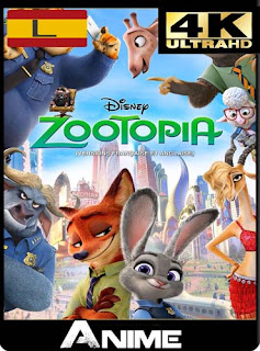 Zootopia (2016) 4K UHD 2160p Latino [GoogleDrive] dizonHD