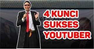 Inilah Kunci Sukses jadi Youtube kata Tung Desem Waringin