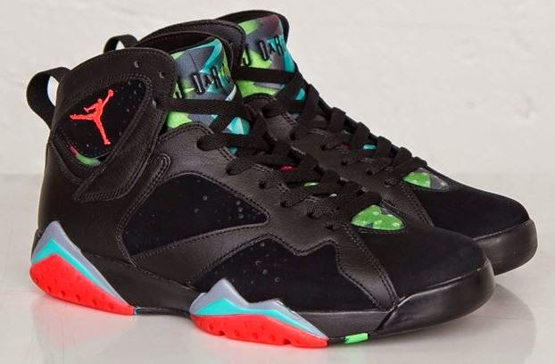 fe39e53330e0c7 Air Jordan 7 Marvin The Martian AKA Barcelona Nights Retro Sneaker  Available Now (Detailed Look On Feet With Dj Delz )