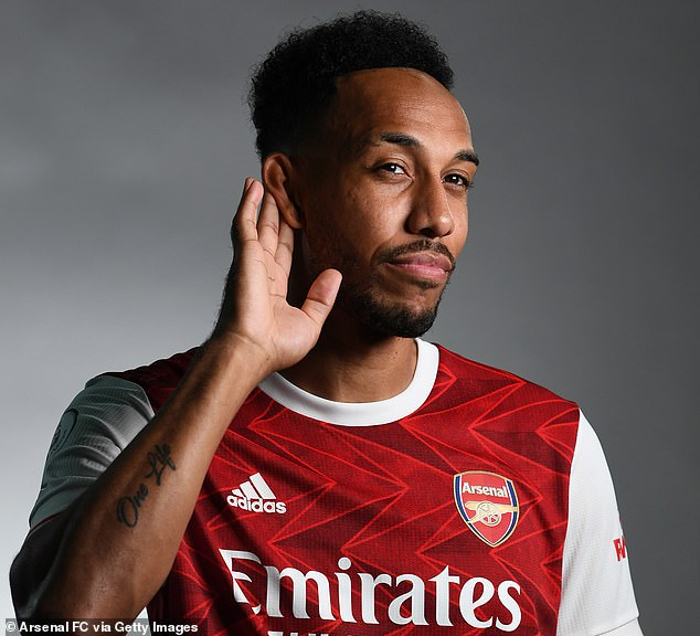 Pierre-Emerick Aubameyang has signed a new three-year contract with Arsenal.