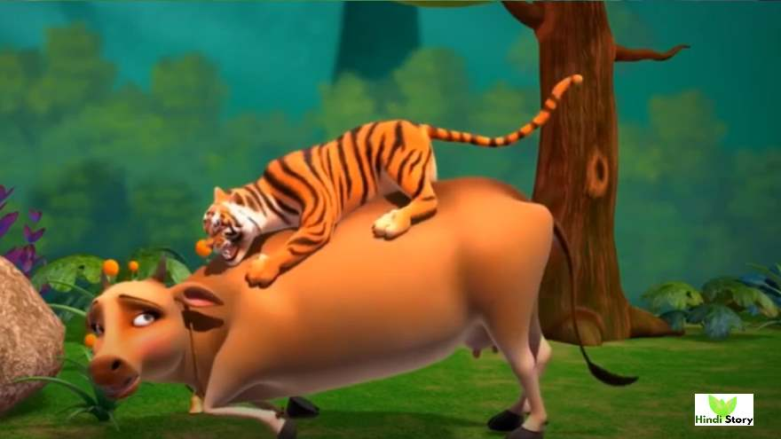 Cows And The Tiger Moral Story For Kids