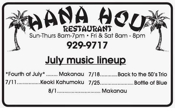 The Ka`u Calendar News Briefs, Hawai`i Island