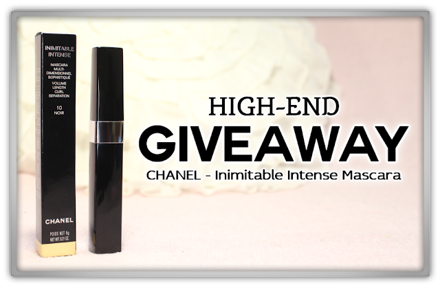 CHANEL Inimitable Intense Mascara noir Review haul high end makeup GIVEAWAY Win winnen winactie beauty blog blogger new year eve haul