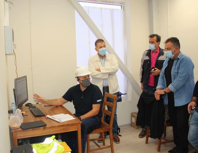 Τις εγκαταστάσεις του νέου εργοστασίου της ΔΕΤΕΠΑ επισκέφτηκε ο Δήμαρχος Αμυνταίου 'Ανθιμος Μπιτάκης