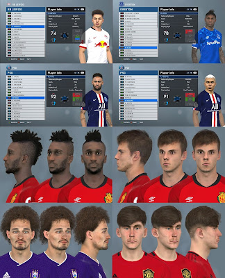 PES 2017 Facepack January 2020 by Dewatupai