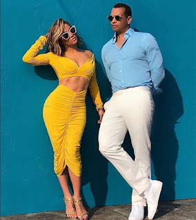 JLO And Arod Launch Their Clothing Line