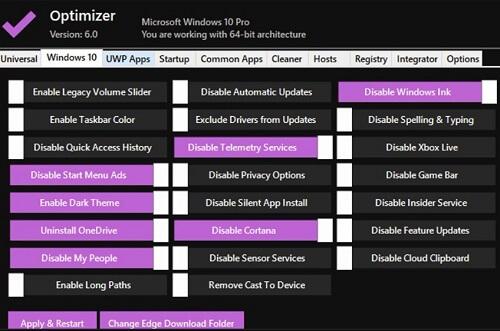 تسريع ويندوز 10 أفضل اعدادت ويندوز 10 أقوى برامج الكمبيوتر Optimizer