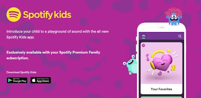 Spotify introduces its Spotify Kids app on Android and iOS