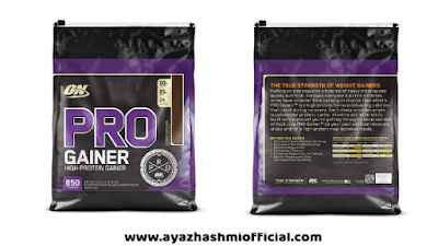 Optimum Nutrition (ON) Pro Mass Gainer - Amazon, Optimum Nutrition (ON) Pro Mass Gainer - 10.19 lbs, 4.62 kg, 4.62 kg (Double Chocolate)