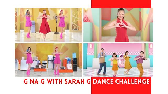 G na G with Sarah G Dance Challenge